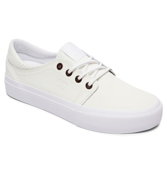 DC LADIES TRASE SE WHITE SHOE
