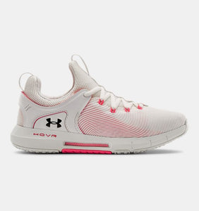 UNDER ARMOUR LADIES HOVR RISE 2 WHITE TRAINING SHOE