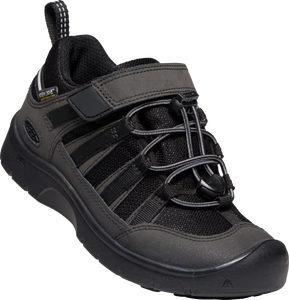 KEEN YOUTH HIKEPORT 2 LOW WP BLACK/BLACK SHOE
