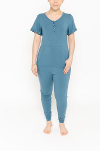 SMASH + TESS LADIES ANYDAY BECOMING BLUE ROMPER