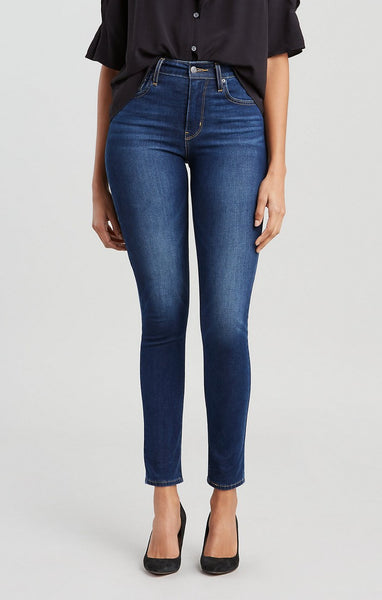 LEVI LADIES 721 HIGH RISE UP FOR GRABS SKINNY JEAN