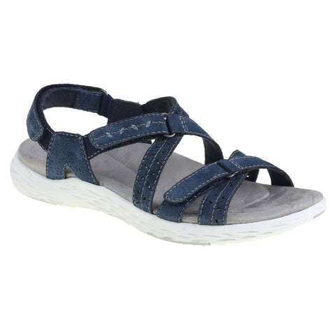 EARTH ORIGINS LADIES WESTFIELD-WINONA NAVY BLUE SANDAL