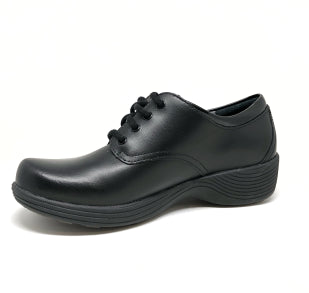 DANSKO LADIES COSMOS BLACK LEATHER SHOE