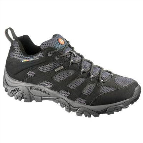 MERRELL MENS MOAB GTX BLACK/GRANITE SHOE