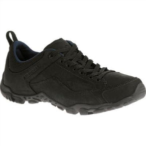 MERRELL MENS TELLURIDE LACE BLACK SHOE