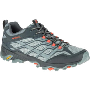 MERRELL MENS MOAB FST GREY/ORANGE SHOE