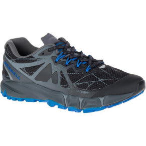 MERRELL MENS AGILITY PEAK FLEX BLACK SHOE