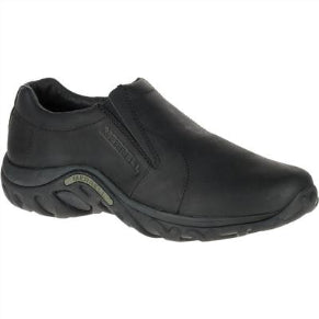 MERRELL MENS JUNGLE MOC LEATHER MIDNIGHT
