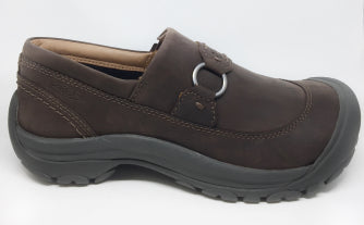 KEEN LADIES KACI II SLIP ON DARK EARTH/CANTEEN SHOE