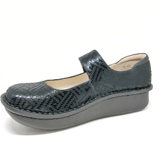 ALEGRIA LADIES PALOMA BLACK DAZZLER SHOE