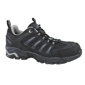 WOLVERINE MENS GAZELLE BLACK STEEL TOE SHOE