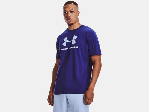 UNDER ARMOUR MENS SPORTSTYLE LOGO REGAL TSHIRT