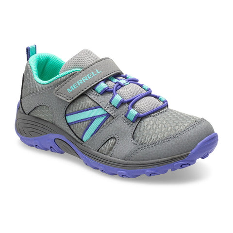 MERRELL YOUTH OUTBACK LOW GREY/MULTI SHOE