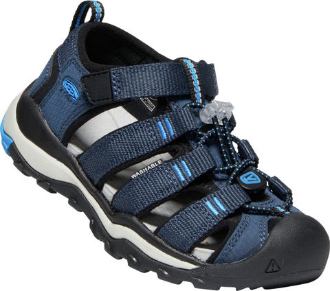 KEEN YOUTH NEWPORT NEO BLUE NIGHTS/BRILLIANT BLUE SANDAL