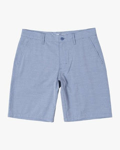 "RVCA MENS BALANCE 20"" HYBRID NAUTICAL BLUE SHORT"