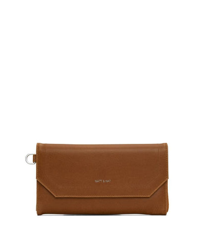 MATT & NAT LADIES MION VINTAGE CHILI MATE NICKEL WALLET