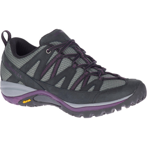MERRELL LADIES SIREN SPORT 3 BLACK/BLACKBERRY SHOE