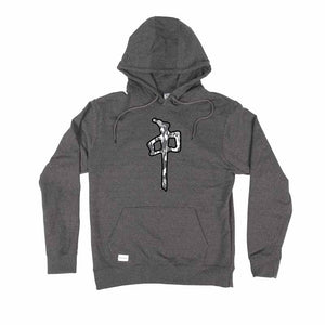 RDS MENS SNOW CAMO CHUNG CHARCOAL HOODIE