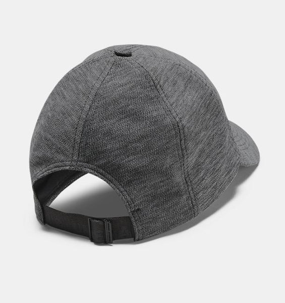 UNDER ARMOUR LADIES HEATHERED PLAY UP JET GREY HAT