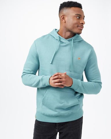 TEN TREE MENS TREEFLEECE REYNARD SEA CLIFF BLUE HOODIE