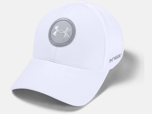 UNDERE ARMOUR MENS ISO-CHILL TOUR WHITE HAT