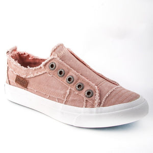 BLOWFISH LADIES PLAY DUSTY PINK HIPSTER SMOKED TWILL SHOE