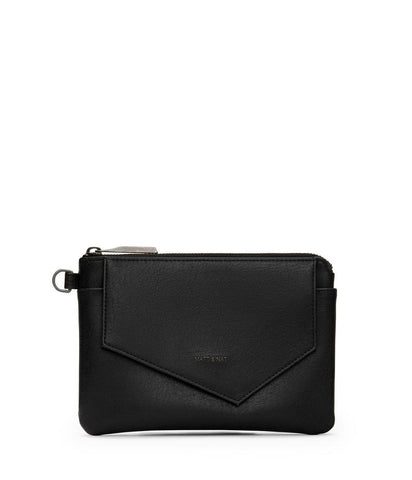 MATT & NAT LADIES NIA VINTAGE BLACK WALLET