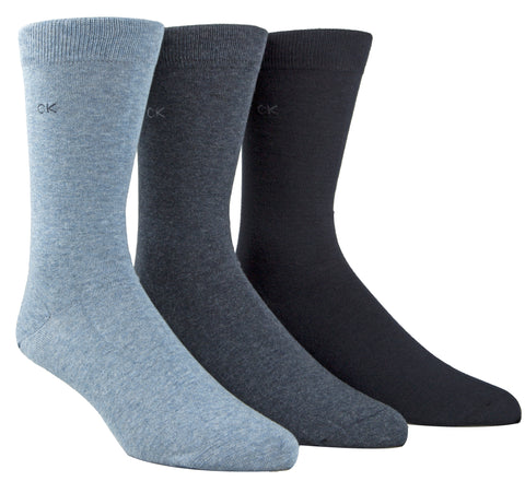 MCGREGOR MENS CALVIN KLIEN 3PK ASSORTED SOCK