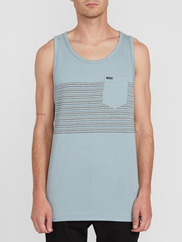 VOLCOM MENS FORZEE COOL BLUE  TANK