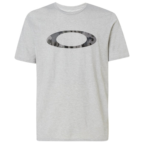 OAKLEY MENS CAMO BUBBLE NEW GRANITE HEATHER TSHIRT