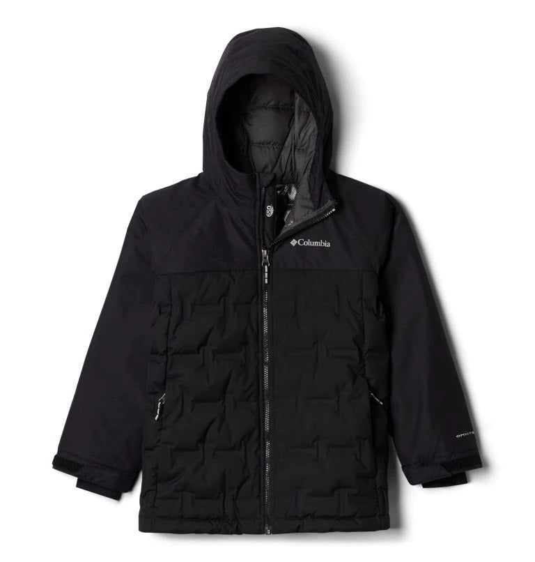 COLUMBIA YOUTH GRAND TREKDOWN BLACK WINTER JACKET