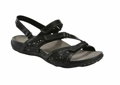 EARTH SHOE LADIES MAUI BLACK SANDAL