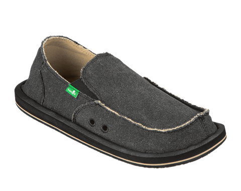 SANUK MENS VAGABOND CHARCOAL SHOE