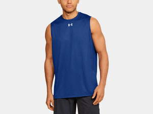 UNDER ARMOUR MENS LOCKER SL ROYAL BLUE TANK