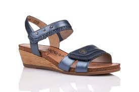 REMONTE LADIES R4450-14 BLUE SANDAL