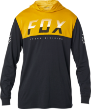 FOX MENS END OF THE LINE BLACK LS TSHIRT