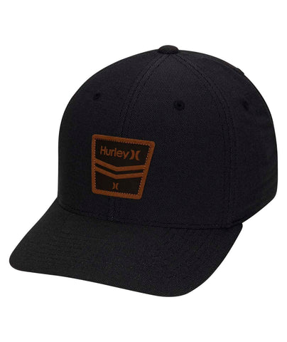 HURLEY MENS DRI FIT HURRICANE BLACK HAT