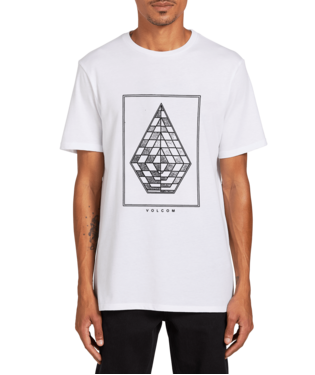 VOLCOM MENS EXPEL WHITE TSHIRT