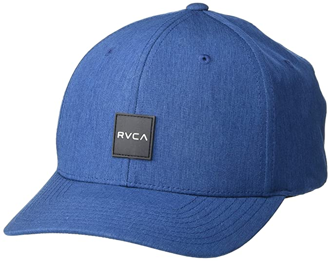 RVCA MENS SHIFT FLEX FIT NAVY HAT