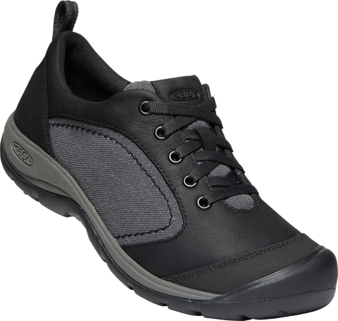 KEEN LADIES PRESIDIO II CASUAL BLACK/MAGNET SHOE