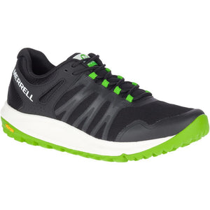 MERRELL MENS NOVA BLACK/LIME SHOE
