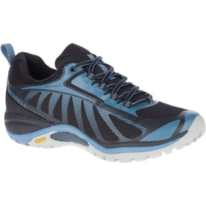 MERRELL LADIES SIREN EDGE 3 WP BLACK/BLUESTONE SHOE