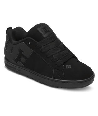DC MENS COURT GRAFFIK BLACK/BLACK/BLACK SHOE