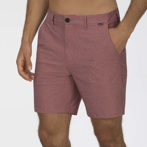 HURLEY MENS PHANTOM RED WALKSHORT