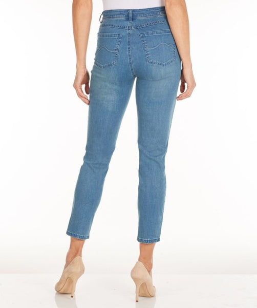 FDJ LADIES OLIVIA SKY SLIM ANKLE JEAN