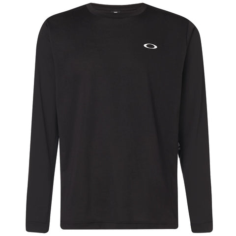 OAKLEY MENS ENHANCE QD LS BLACKOUT SHIRT