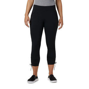 COLUMBIA LADIES ANYTIME CASUAL BLACK ANKLE PANT