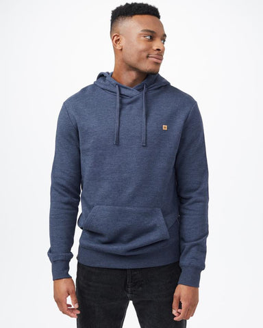 TEN TREE MENS TREEFLEECE REYNARD DRESS BLUE HOODIE