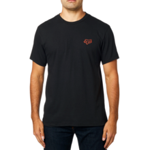 FOX MENS ROADIE SS BLACK TSHIRT