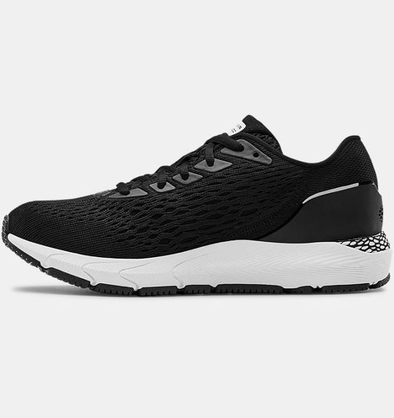 UNDER ARMOUR LADIES HOVR SONIC3 BLACK RUNNING SHOE